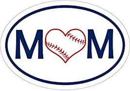 Amazon Com Wickedgoodz Blue Oval Baseball Mom Vinyl Decal Youth Sports Bumper Sticker Perfect For Windows Cars Tumblers Laptops Lockers Automotive