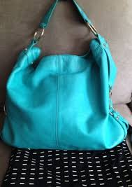 turquoise tote bag leather the art of