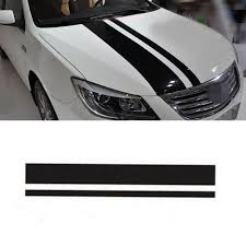 3d Carbon Fiber Car Racing Stripes Vinyl Decal Sticker For Honda Accord Civic Ebay