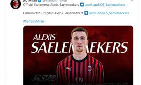 Milan, UFFICIALE l'arrivo di Saelemaekers