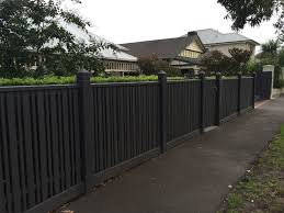 Thin And Thick Pickets Line With Mini Orb And Or Hedge On Inside To Deter Animals Trying To Climb It Front Fence Fence Design Decorative Garden Fencing