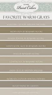favorite gray brown taupe paint colors
