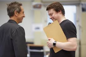 Sheffield Crucible's Frost/Nixon rehearsal photos | WhatsOnStage