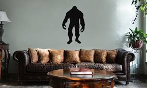 Decal Serpent Bigfoot Silhouette Vinyl Wall Mural Decal Home Decor Sticker Black Bigfoot Gifts Products Toys Merchandise Your Bigfoot Store More