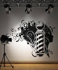 Vinyl Wall Decal Sticker Barbershop Design Os Aa594 Stickerbrand