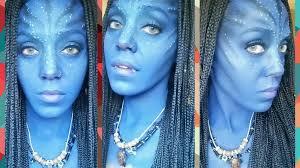 na vi makeup tutorial avatar cosplay