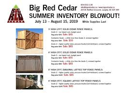 Big Red Cedar Posts Facebook