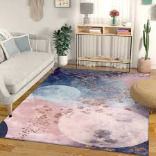 Beautiful Pink Blue Carpets Living Room Bedroom Bedside Area Rugs Kids Girl Room Modern Abstract Watercolor Decor Tapete Carpet Carpet Aliexpress