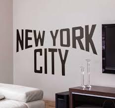 Beautiful New York City Decals Tenstickers