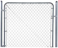 Fit Right Chain Link Fence Walk Through Gate Kit 24 72 Wide X 6 High Garden Gates Amazon Com