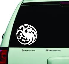 Game Of Thrones Car Decal Oh Yes