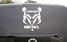 Amazon Com Truck Back Window Dodge Ram Cummins Diesel Decal Sticker Car Vinyl Graphics Tr013 Home Kitchen