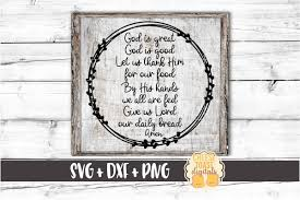 God Is Great God Is Good Svg Free And Premium Svg Files Cheese Toast Digitals