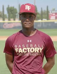 Baseball Factory   Player Page   Osiris Johnson