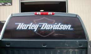 Harley Davidson Window Lettering C Ely Signs Graphics