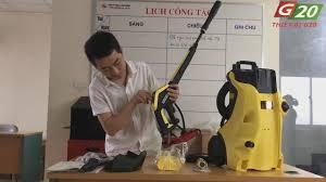 Máy rửa xe cao áp - Máy bơm rửa xe - Máy phun xịt rửa áp lực cao - Máy rửa  xe gia đình Karcher K4 Full Control EU