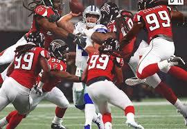 Falcons Adrian Clayborn becomes the deciding factor in 27-7 win vs ...