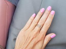 Moja Stylizacja Sukienka Khaki I Rozowy Manicure Semilac Na