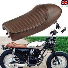 hump cafe racer seat vine saddle