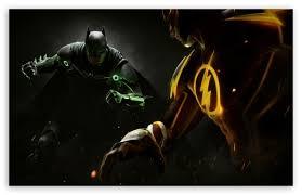 injustice 2 batman vs flash ultra hd