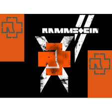 Rammstein 3 Color Band Decal