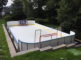 sheet artificial skating rink