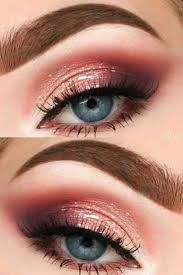 12 photos of peach eyeshadow looks for