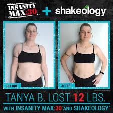 insanity max 30 and shakeology