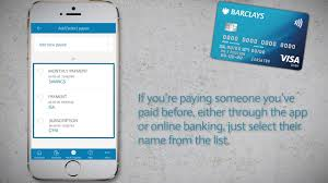 the barclays app how to make payments