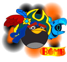 angry birds epic Bomb pirate of elite by fanvideogames on DeviantArt