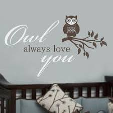 Http Rockababywallquotes Com Item 4 Owl Allows Love You Kids Wall Quote Htm Baby Wall Quotes Owl Always Love You Baby Nursery Decals