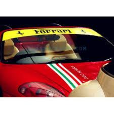 Ferrari Windshield Decal Style 1