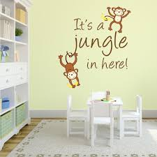 It S A Jungle Monkey Wall Decal Wall Decal World