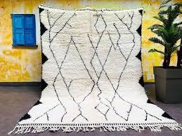 beni ourain 6x9 moroccan wool berber