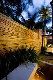 Architecture Vogue Horizontal Wood Plank Fencing Sala Architects