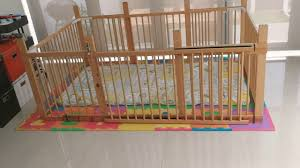 Ikea Hack Make A Toddler Playpen With Sliding Gate Out Of Gulliver Cots Cribs Youtube