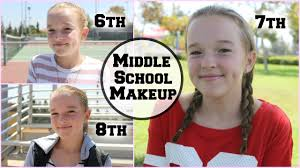 pretty in 6th grade without makeup