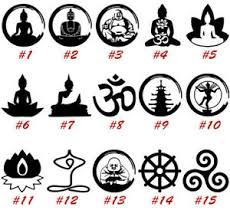 Buddha Vinyl Decal Sticker Car Window Yoga Sangha Buddhism Dharma Usa Seller Ebay