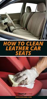 clean your leather car seats