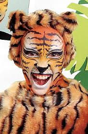 tiger makeup ideas tips and exles
