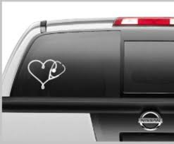 Stethoscope Decal Car Decal Lap Top Decal Rn Decal Nurse Etsy