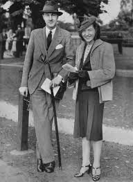 Lord and Lady Charles Cavendish (née Adele Astaire), Phoenix Park, 1939 |  Années 1910
