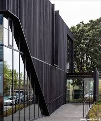 Resene Woodsman Sheer Black Stain Green Facade Exterior Stain Exterior Cladding