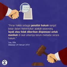 peran hakim sebagai penafsir hukum rumah kitab