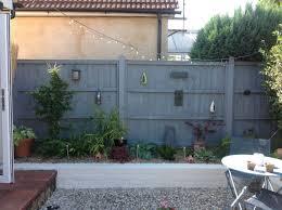 Grey Garden Fence Ideas In 2020 Garden Fence Paint Patio Garden Design Grey Fences