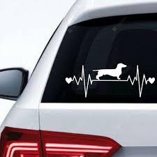 Ecg Dog Car Sticker Background Wall Decoration Wall Sticker Removable Sticker Sale Price Reviews Gearbest