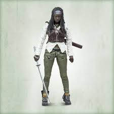 Amc S The Walking Dead Tv Series 7 Michonne Action Figure Walmart Com Walmart Com