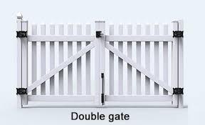 Stylish Straight Top Picket Fence In Australia