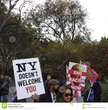 end racism now ny doesn t welcome you