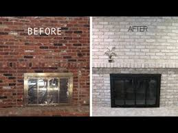i painted my brick fireplace 5 years